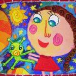 Viara Pencheva: Second Place, Age 5 - 6, Bulgaria