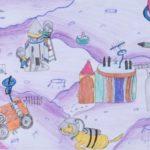 Ayesha Iftikhar: First Place Drawing, PreK - 2nd Grade, Pakistan