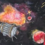 Sakina Khan: First Place Painting, 9th - 12th Grade, Pakistan