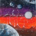 Salman Laiba: Second Place Painting, 3rd - 5th Grade, Pakistan