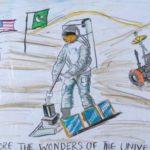 Zoya Baakza: Third Place Drawing, 6th - 8th Grade, Pakistan